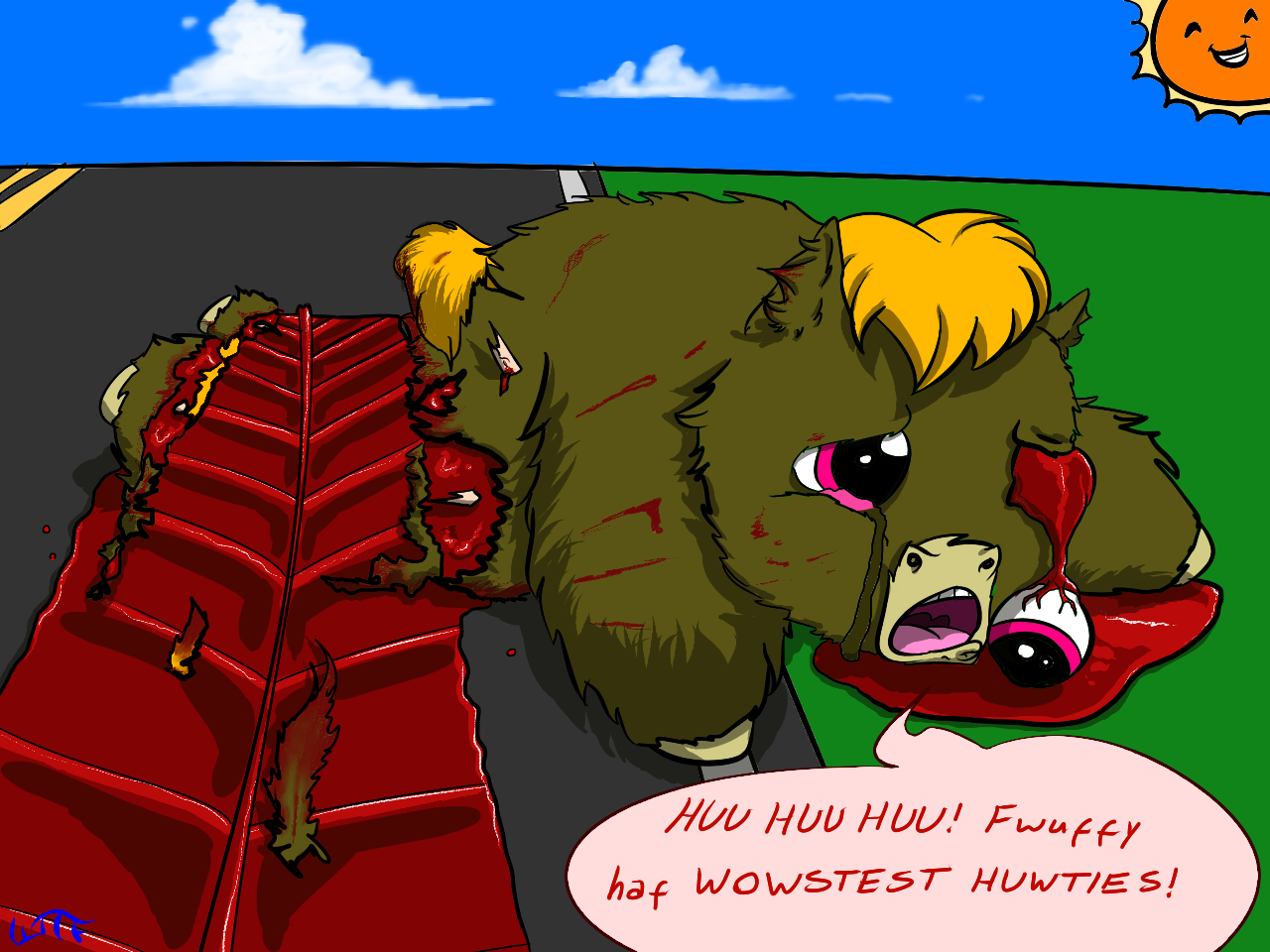 36213 - abuse artist_whatthefluff blood cool_sun crying reckless_driving road roadkill safe se...png
