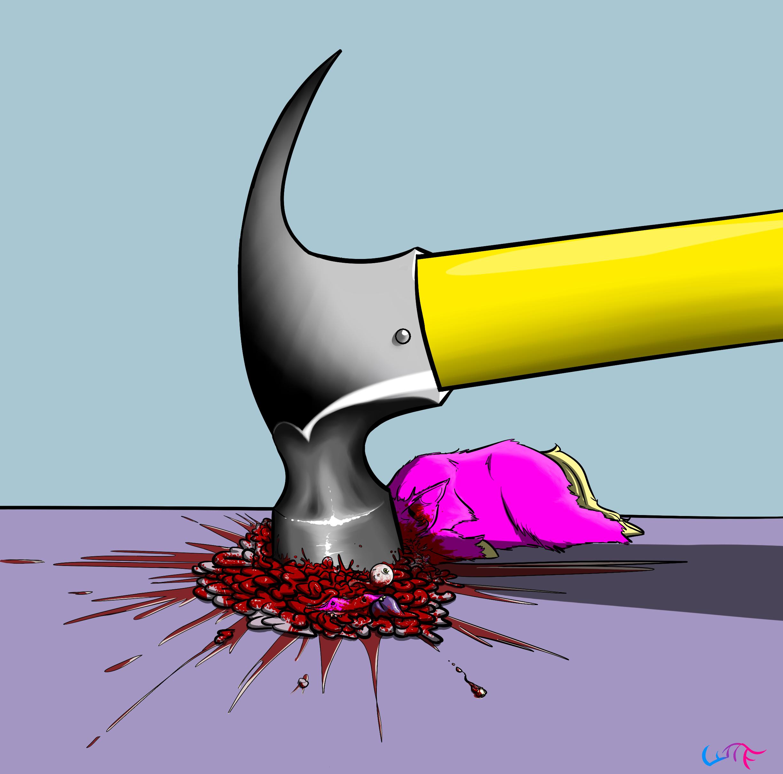 46140 - abuse artist_whatthefluff blood brains eyeball gore hammer hammertime questionable tee...png